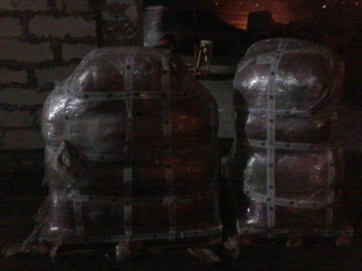 """Одеяла возле склада """"Новой Почты"""", только что прибыли."""