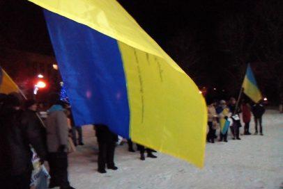 День соборності України: як відзначили бахмутчани – ВІДЕО