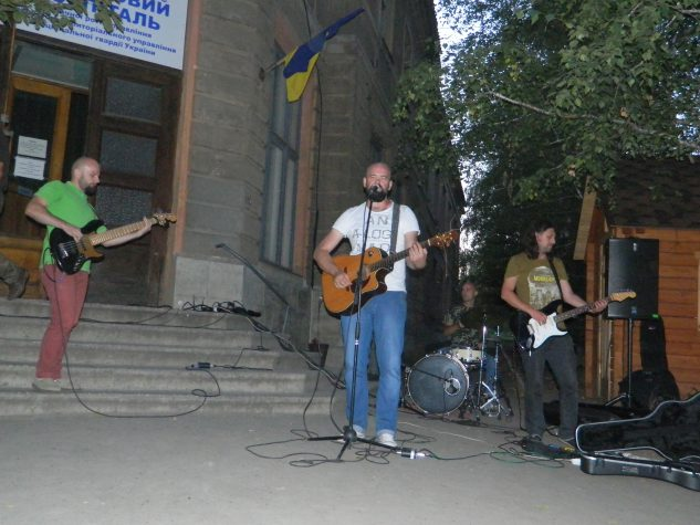 Український музикант привітав 54 бригаду (ВІДЕО)