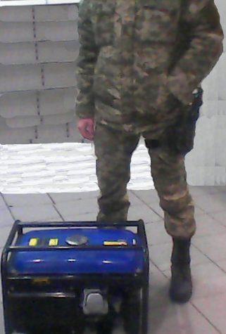 Відремонтований генератор та смаколики – уже у бійців 26-ї