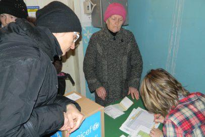 Збираємо речі для літніх людей в селах!