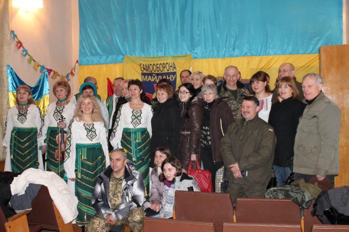 """""""Плай"""" із міста Славська співали з бахмутськими волонтерами"""