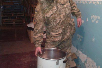 Артилеристам передали пральну машину