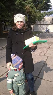 """Подарунки від """"Надійного тилу"""" – в Сіверську!"""