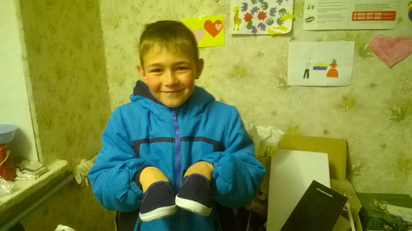 Одяг та взуття для тих, хто потребуює допомоги