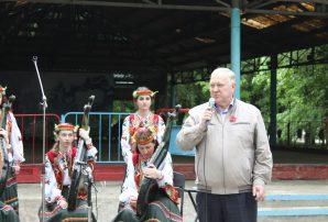 "Бахмутчани слухали ""Галичанку"" (ФОТО)"