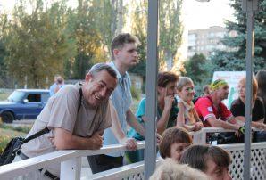 Сергій Жадан у Бахмуті (багато фото)