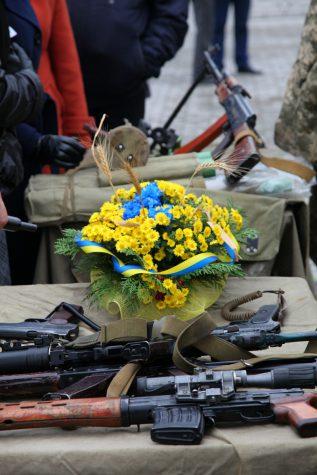 День захисника України, Бахмут, 2016 рік (ВІДЕО)