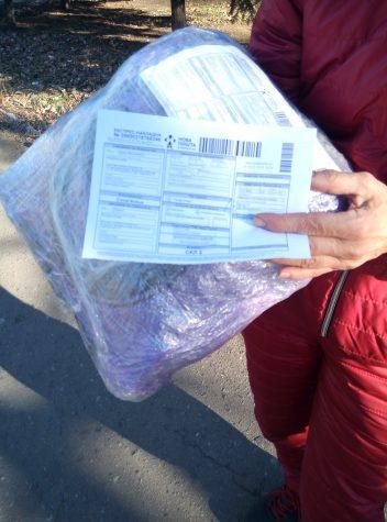 Посилка від друзів з Франківська