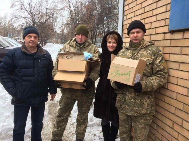 """""""Бахмут Український"""" передав лікарям на передову необхідні матеріали та ліки"""