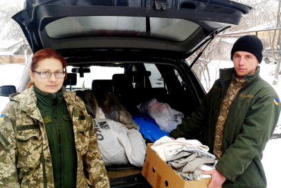 """Для поранених бійців """"Бахмут Український"""" передав теплу білизну"""