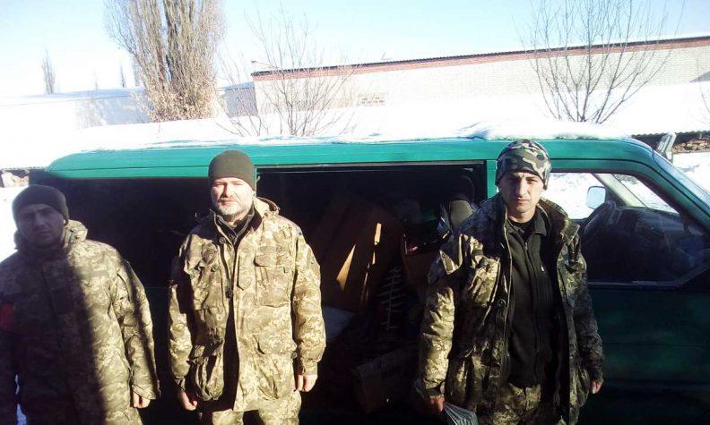 Допомога з Тернополя дісталась до передової