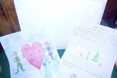 Подаруночки від діточок зі Львова для бійців