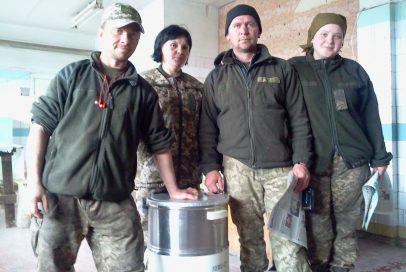 Волонтери надали допомогу, щоб полегшити побут військових