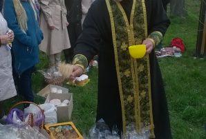 Військовий капелан провів в Бахмуті святкову службу (ФОТО)