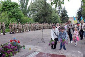 В Бахмуті вшанували пам'ять трьох тисяч закатованих військовополонених (ФОТО)