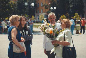 Бахмут дякує: три роки від звільнення міста(ФОТО)