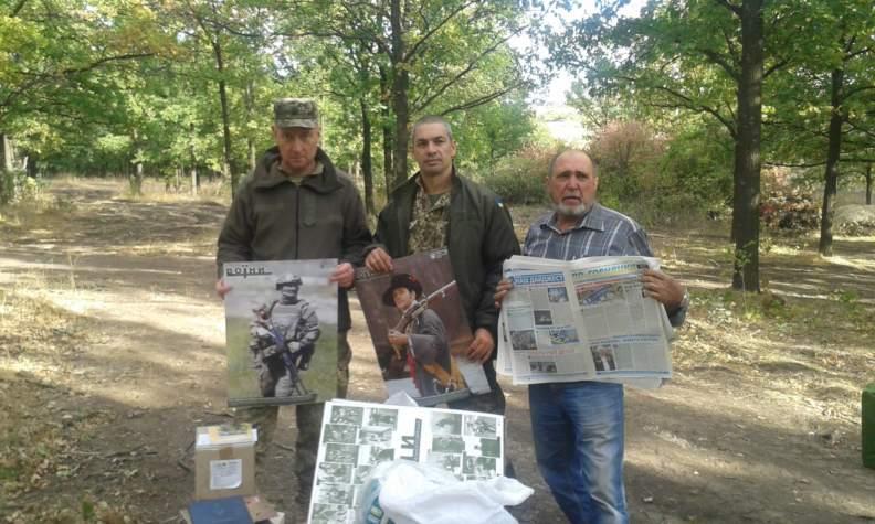 """""""Бахмут Український"""" продовжує допомагати на передовій"""