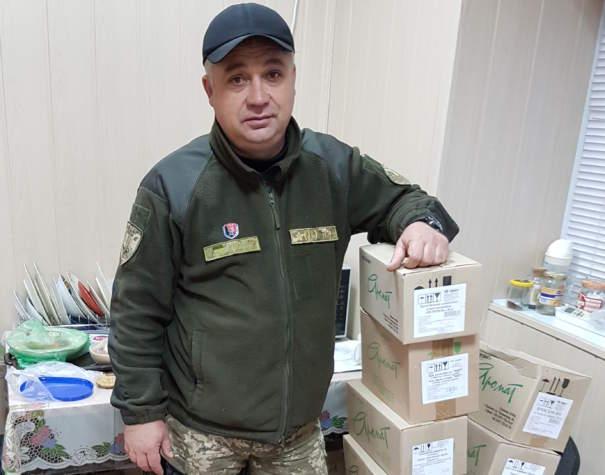 Продовжуємо надавати допомогу лікувальними кремами для бійців