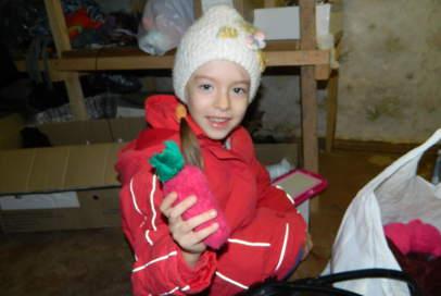 """На складі """"Бахмута Українського"""" можна отримати дитячі та дорослі речі"""