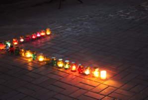 В Бахмуті відбувся жалобний захід в пам'ять загиблих у Голодоморі