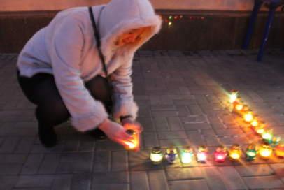 """Запрошуємо долучитися до акції """"Запали свічку пам'яті"""""""