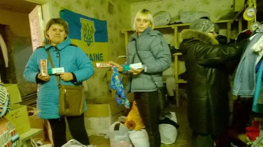 """На складі """"Бахмута Українського"""" нужденні отримали якісні речі"""