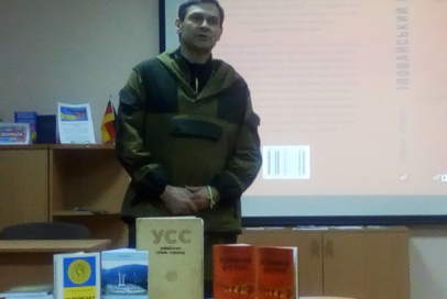 """В Бахмуті представили книгу """"Іловайський щоденник"""""""