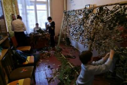 Дітки плетуть сітки