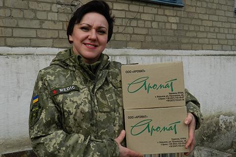 """Катерина Соколенко записала відео в підтримку """"Бахмута Українського"""""""