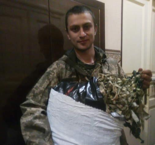 """Прапори від """"Бахмуту Українського"""" поїхали на позиції"""