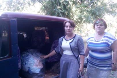 """Речі зі складу """"Бахмута Українського"""" поїхали в різні куточки району"""