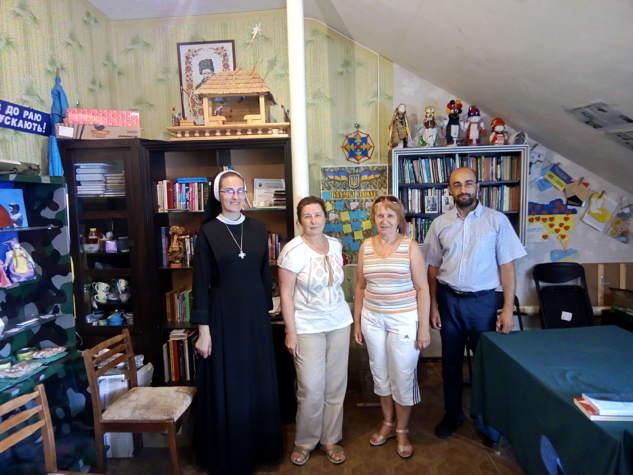 """В офіс """"Бахмута Українського"""" завітали гості зі Львова та Німеччини"""