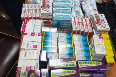 Ліки від застуди поїхали на передову