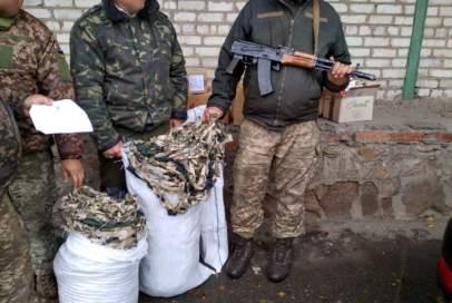 """Волонтери ГО """"Бахмут Український"""" передали гостинці на передову"""