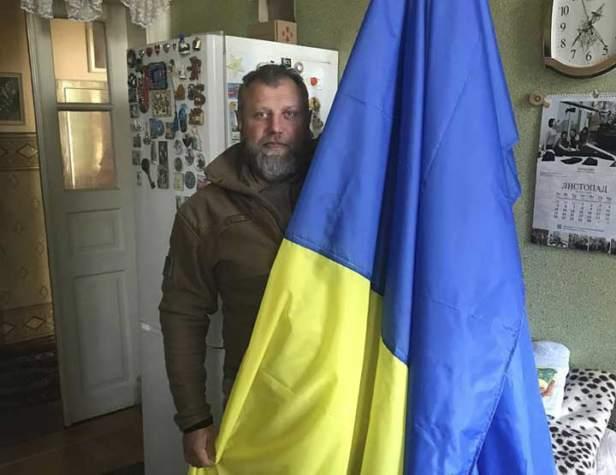 Великий прапор України на передову