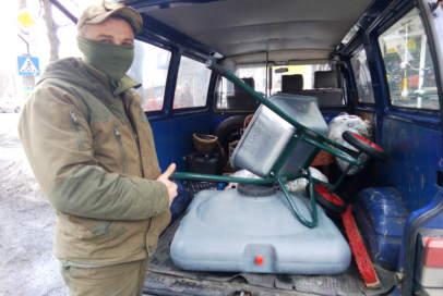 Бійці з передової відзвітували про надходження подарунків (ФОТО)