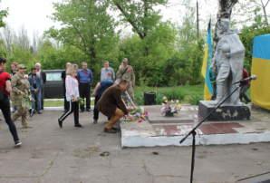 """""""Бахмут Український"""" провів захід вшанування пам'яті вбитих гітлерівським та сталінським режимами (ФОТО)"""